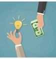 concept for crowdfunding vector image