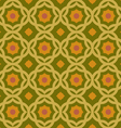 old green geometric pattern vector image