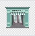 pharmacy building vector image