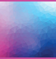 polygon background vector image