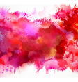 red blots vector image vector image