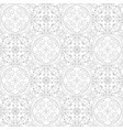 low contrasting vintage ornament gray drawing on vector image