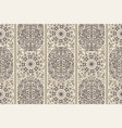 beige ancient vintage seamless ornamental texture vector image vector image