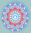 Budda ornamental print vector image vector image
