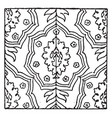 carpet pattern is a 17th century design found in vector image vector image