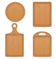 cutting board 05 vector image