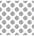 Dotted floral seamless pattern vector image vector image