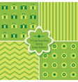 Geometric pattern design vector image vector image