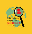international day disappeared august 30