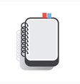 Notebook Flat vector image