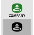 Number 9 logo logotype design vector image vector image