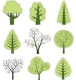 tree 2 vector image vector image