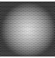 Abstract black white background with dots vector image