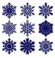 Christmas background snowflakes vector | Price: 1 Credit (USD $1)