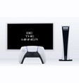digital edition console 3d gaming concept vector image vector image