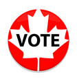 election day label vector image