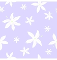 Jasmine flowers pattern vector image