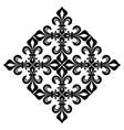 lace-de-luce lace of lilies vector image vector image