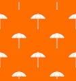 sun umbrella pattern seamless vector image vector image