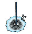wet mop icon image vector image vector image