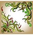 Sketchy doodles decorative color outline vector image