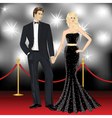 Beautiful famous couple fashion woman and elegant vector | Price: 1 Credit (USD $1)