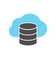 cloud server icon vector image vector image