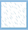 rain drops seamless pattern background vector image vector image