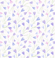 seamless texture with crocuses vector image