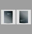 set of business brochure flyer banner design vector image vector image