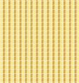 wavy gold pattern vector image vector image