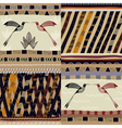 A set of patterns Tribal painting vector image vector image