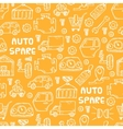auto spare parts pattern vector image vector image
