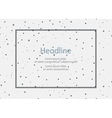 Background for presentation slides with dots vector image vector image