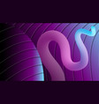background with blue and violet illumination vector image vector image