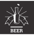 Beer insignia badge vector image