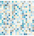 bright mosaic seamless pattern background square vector image vector image