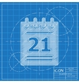 calendar icon Eps10 vector image vector image