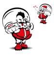 cool Santa Claus vector image