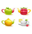 Fruit Tea vector image