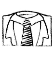 Necktie male fashion vector image vector image