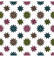 pattern shape star background vector image