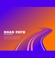 abstract road pathway colors background design