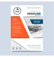Brochure layout design vector image vector image