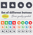 Camel icon sign Big set of colorful diverse vector image vector image