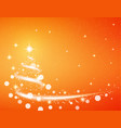 christmas golden background for new year project vector image vector image