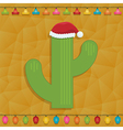 mexican christmas decoration vector image vector image