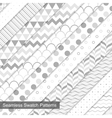 Swatch seamless patterns vector image