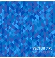 Abstract modern geometric blue background vector image