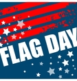 American Flag Day background design vector image vector image